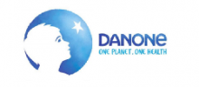 DANONE of logo
