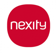 Nexity of logo