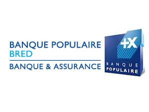 BRED BANQUE POPULAIRE of logo